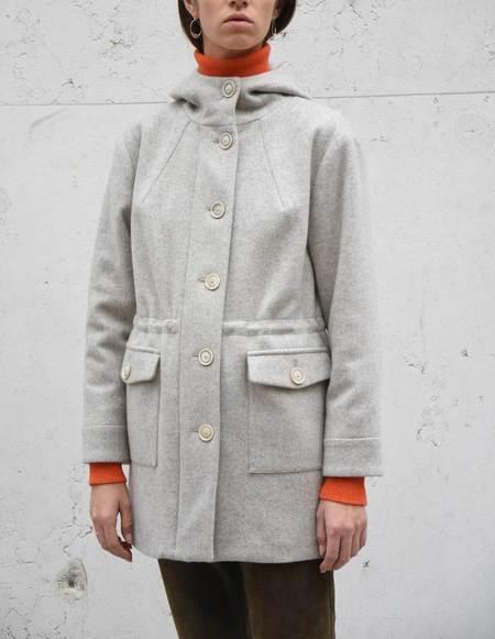 Asciari Milano Amaranto Yak Wool Coat
