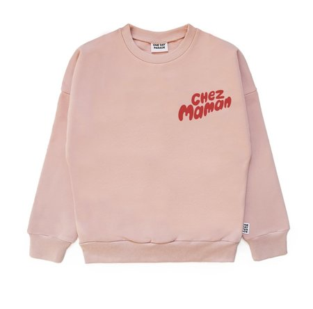UNISEX One Day Parade Chez Maman Sweater - Pink