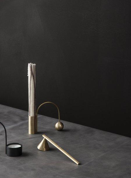 Ferm Living Balance Brass Candleholder