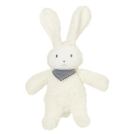 KIDS Petit Bateau Rabbit Pull Musical Toy - WHITE