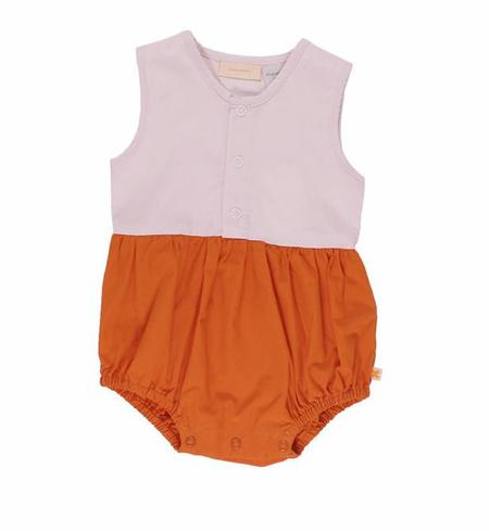 KIDS Tinycottons Color Block Onepiece - Pink