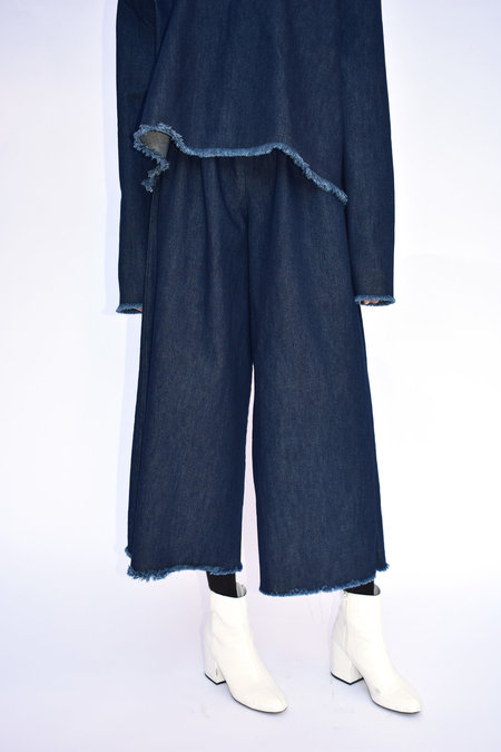 Ashley Rowe Long Pant - Navy
