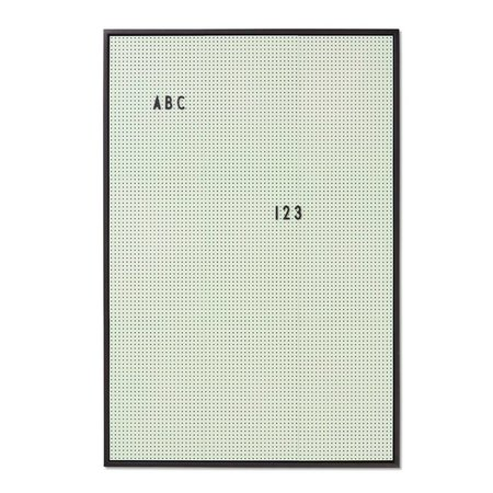Design Letters A2 Message Board - GREEN