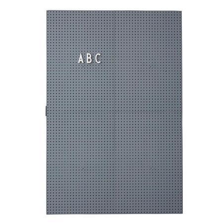 Design Letters A3 Message Board - DARK GREY