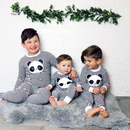 KIDS WHISTLE & FLUTE Kawaii Sleepy Panda Pajama Set