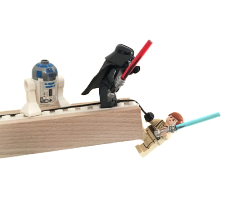 KIDS BRIKI VROOM VROOM Lego Play Shelf