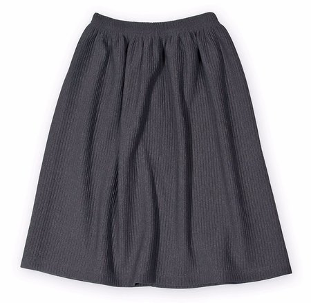 KIDS LITTLE MAN HAPPY Plain Midi Skirt - GREY
