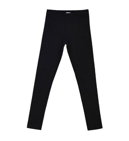 KIDS MAINIO Ribbed Legging - BLACK