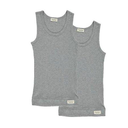 KIDS MARMAR Ribbed Sleeveless Undershirt Set