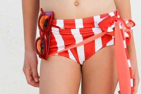 KIDS Wolf & Rita Sara Bikini - RED