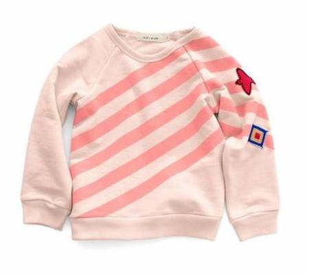 KIDS KID + KIND Uniform Stripe Sweatshirt