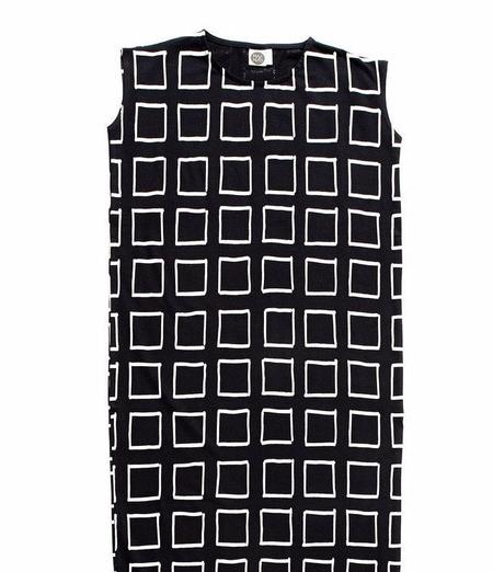MAINIO Frames Maxi Dress - BLACK