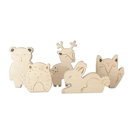 KIDS Loullou Wooden Animals