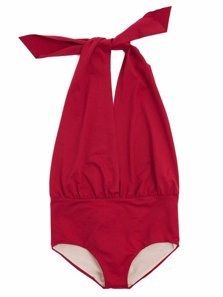 KIDS Little Creative Factory Wrap Bathing Suit - RED