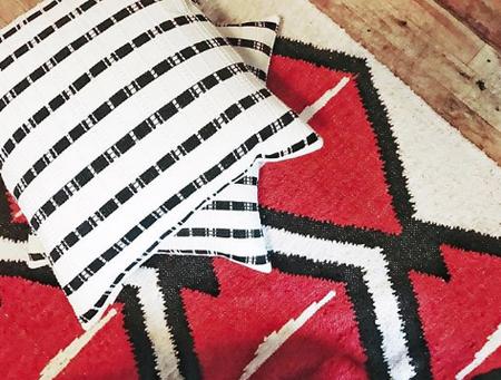 Archive New York Santiago Grid Pillow