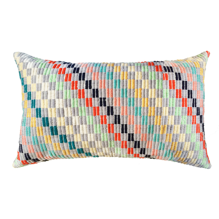 "Archive New York Nahuala IV Pillow - 12""x20"""