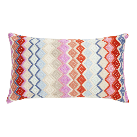 Archive New York San Pedro Diamond Pillow - Multi