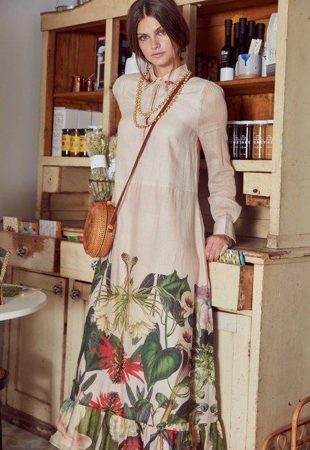 Carolina K Zoe Dress - Medicinal Plants Rose Water