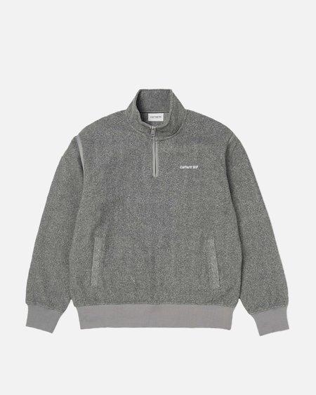 CARHARTT WIP Ailey Sweatshirt - Dark Grey Heather/White
