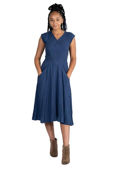 Field Day Xena Dress - Navy