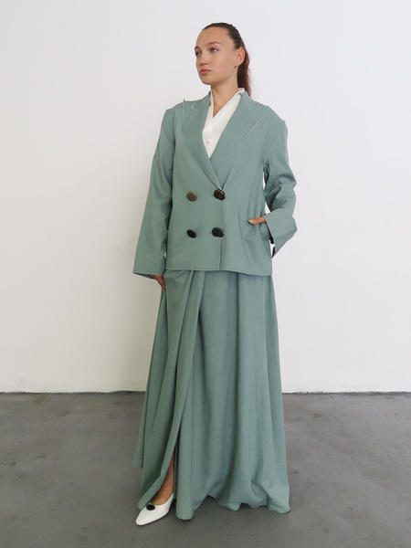 REJINA PYO ALEX JACKET - DARK MINT