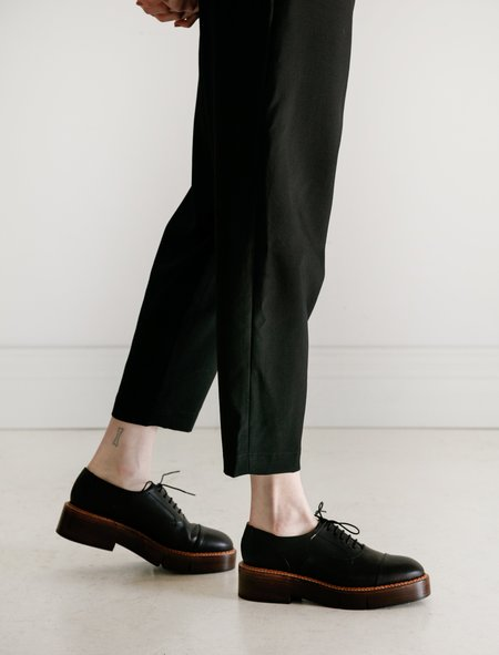 Robert Clergerie Charli Articulated Sole Oxford - Black