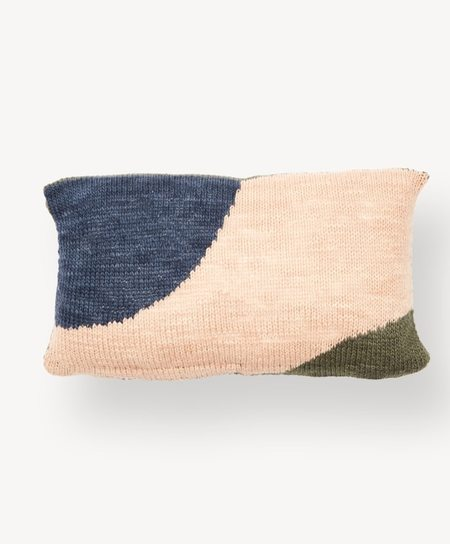 Minna Hillside Lumbar Pillow - Tide