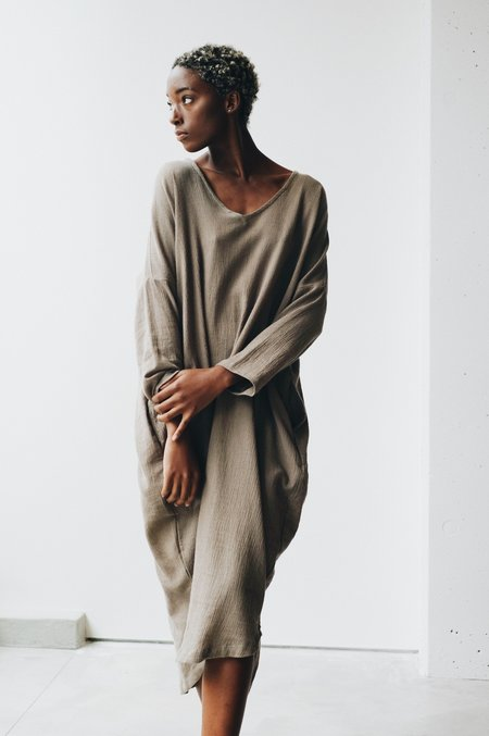at Dawn. Long Sleeve Relax Long Dress