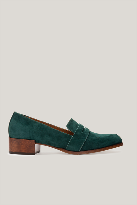 Thelma The Penny Loafer - Forest