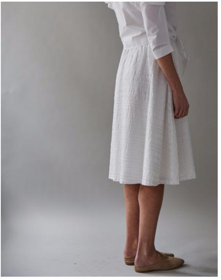 M.Patmos Waxbill Skirt - Ivory Metallic