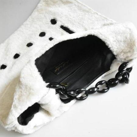 Anita Bilardi Picasso Buff tote - Cream/Black