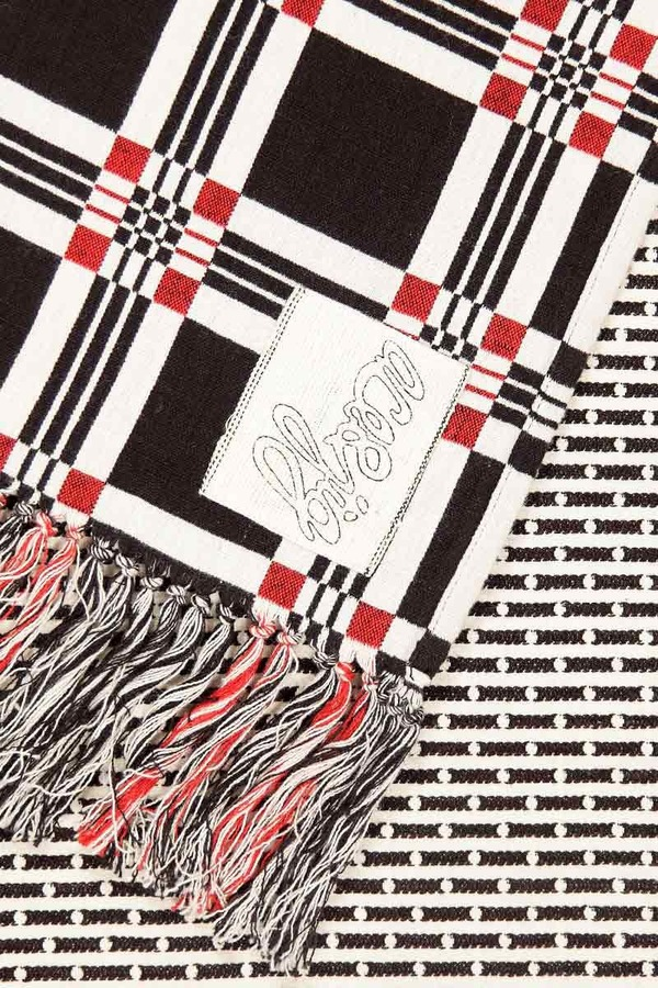 Ace & Jig Geo patched scarf