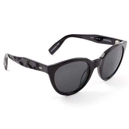 Zanzan Sunetra Sunglasses - Black