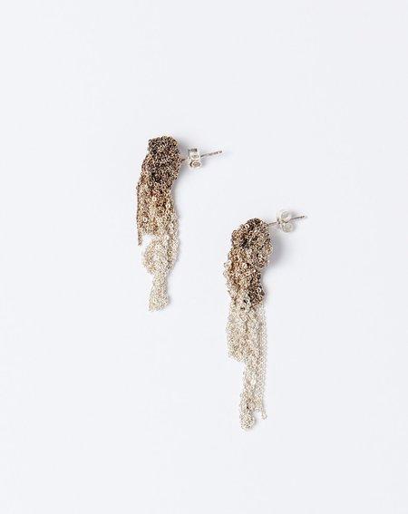 Arielle De Pinto Drip Earrings - Silver Gradient