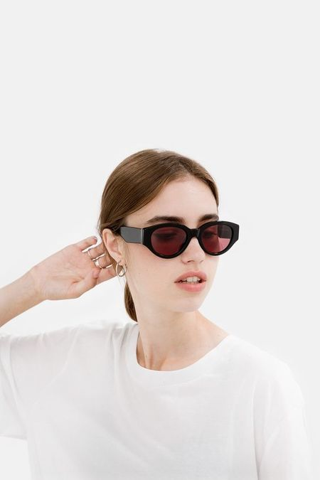 UNISEX RetroSuperFuture Drew Mama EYEWEAR - Bordeaux