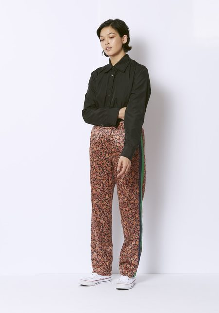Opening Ceremony Paisley Reversible Track Pants - Burgundy