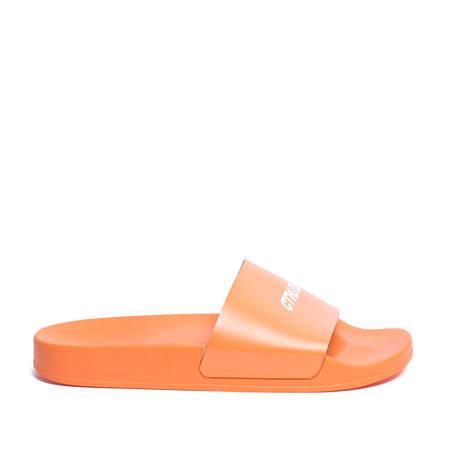 Heron Preston Logo Sliders - Orange