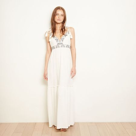 The ODELLS Marbella Dress - Crema