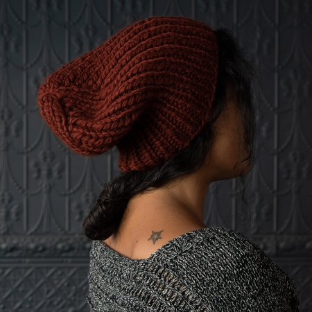 Pamela Mayer Chunky Simple Hat - Terra