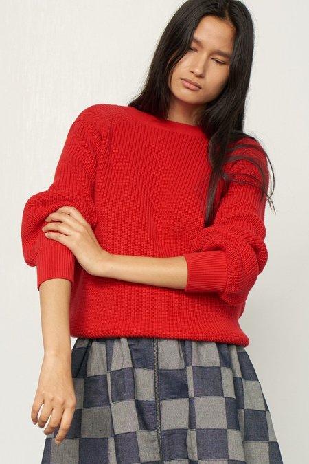Mara Hoffman Avery Sweater - Red