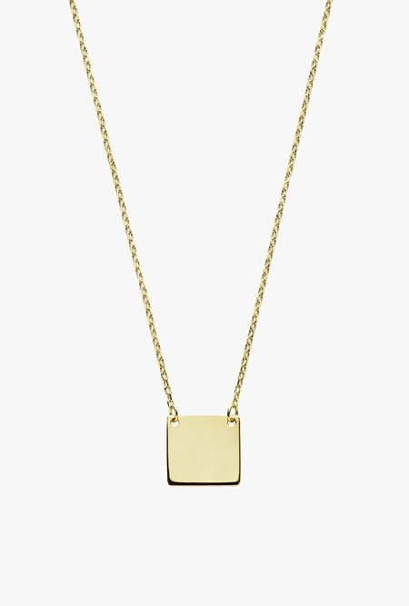 Stella and Bow Serif Necklace