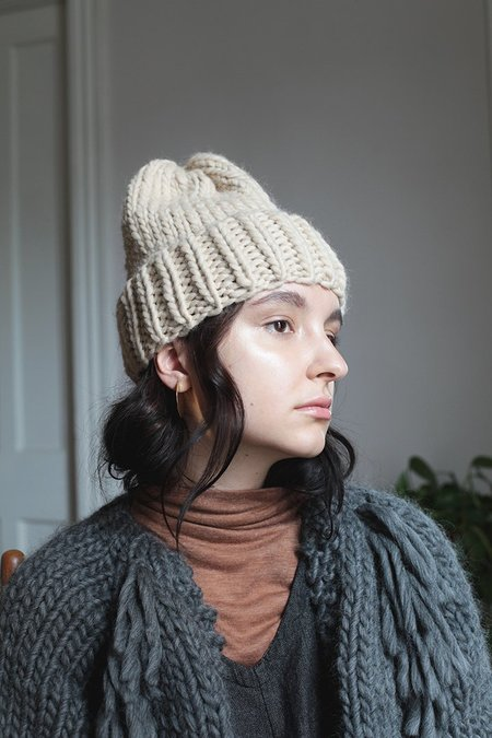 Good Night, Day Elora Peruvian Highland Wool Toque