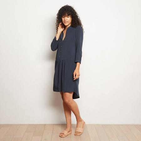The ODELLS Drop Waist Shirt Dress - Charcoal