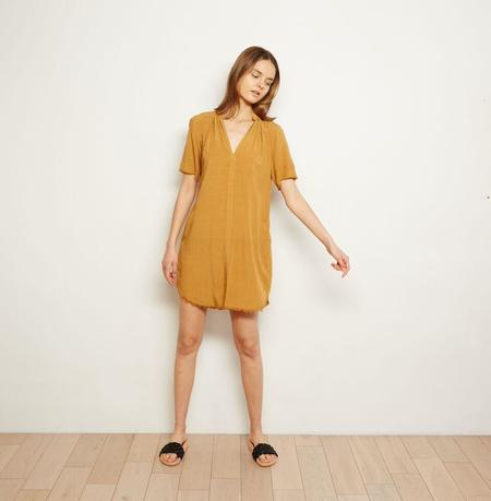 The ODELLS Everyday Shift Dress - Camel