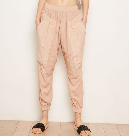 The ODELLS Slouch Pants - Latte
