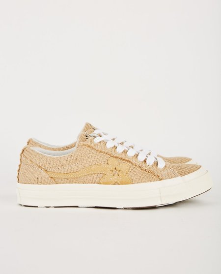 GOLF LE FLEUR* X CONVERSE ONE STAR CURRY - TAN