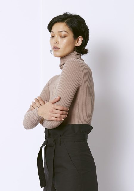The Bodysuit of Barcelona Coppi Bodysuit - Taupe