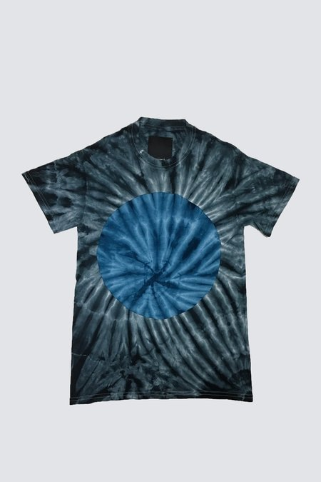 Assembly New York Blue Circle T-Shirt - Tie-Dye