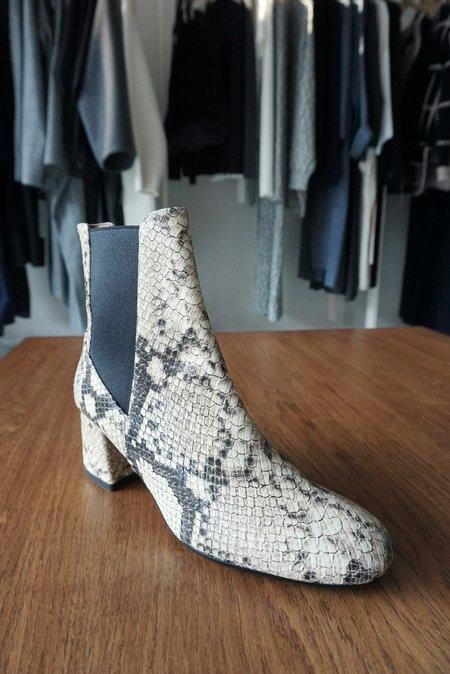 ATP Atelier Altea Boot  - Cream Snake
