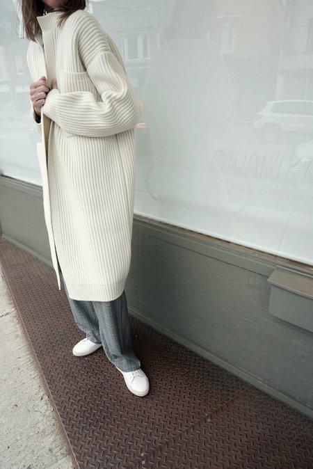 Sofie D'hoore Minaki Pocket Cardigan Coat - Cream